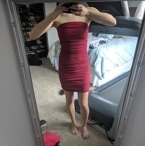 Red Tube Express Dress